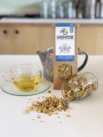 Picture of Birdhouse Tea - Sunset Soother Tea - Loose Leaf (60g)