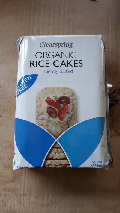 Picture of Organic Clearspring rice cakes (lightly salted) 130g